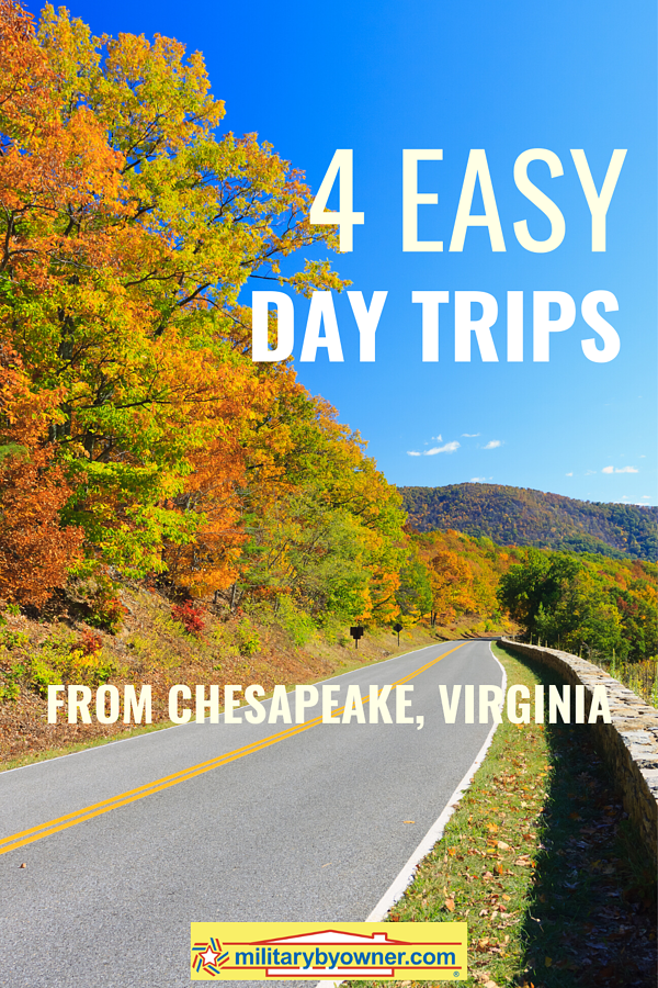 4 Easy Day Trips from Chesapeake