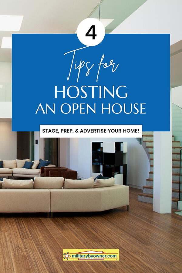 4 Tips for Hosting an Open House