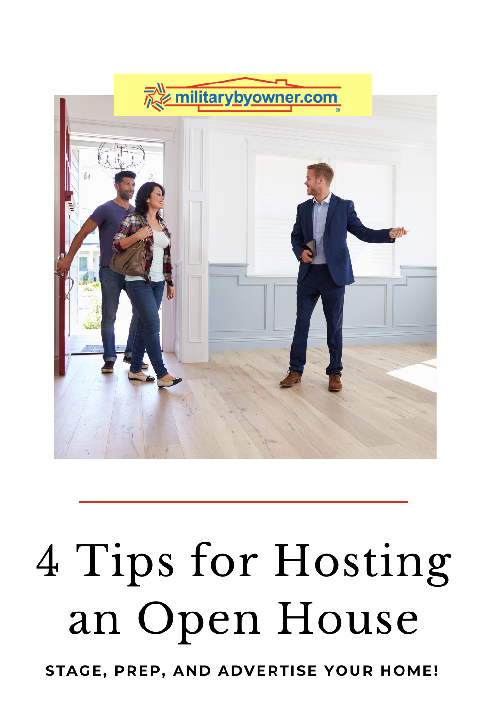 4 Tips for Hosting an Open House