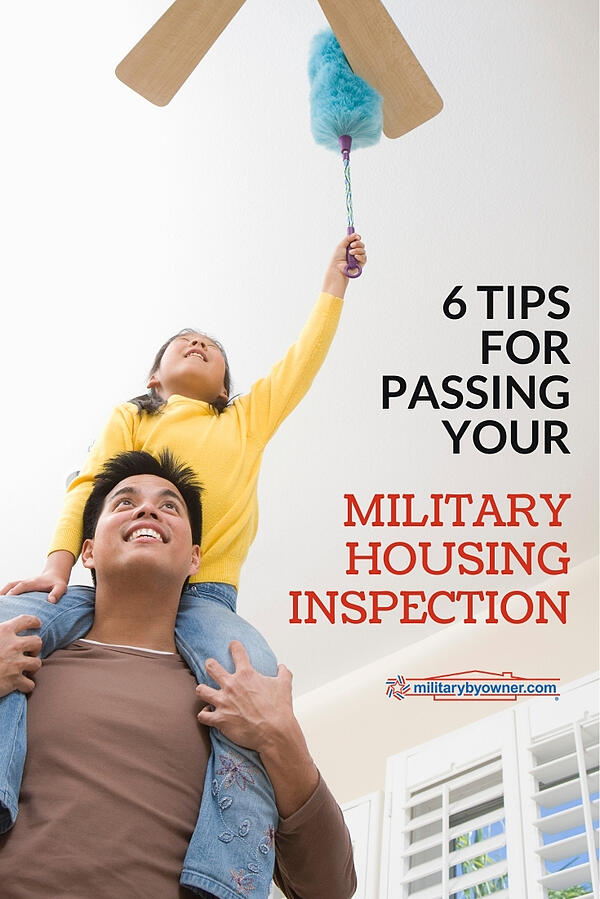 6 Tips for Passing Your Military Housing Inspection
