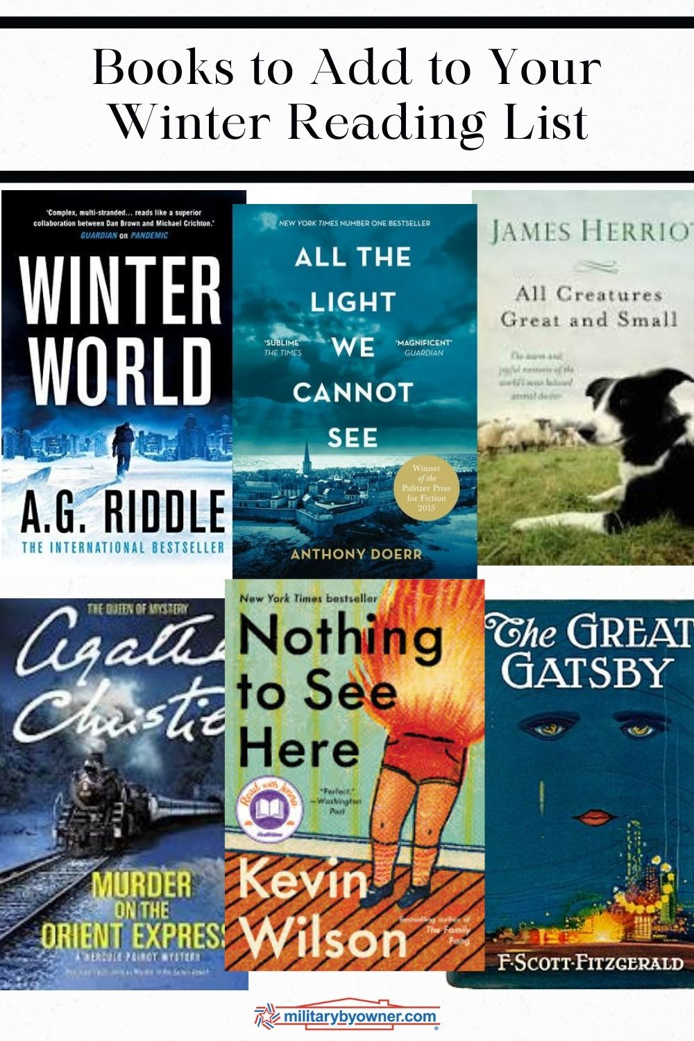 Books to Add to Your Winter Reading List