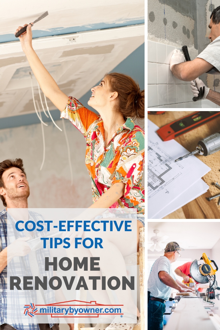 Cost Effective Home Renovation