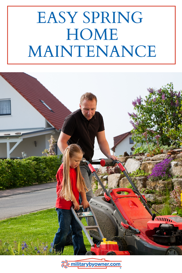 EASY SPRING HOME MAINTENANCE CHECKLIST