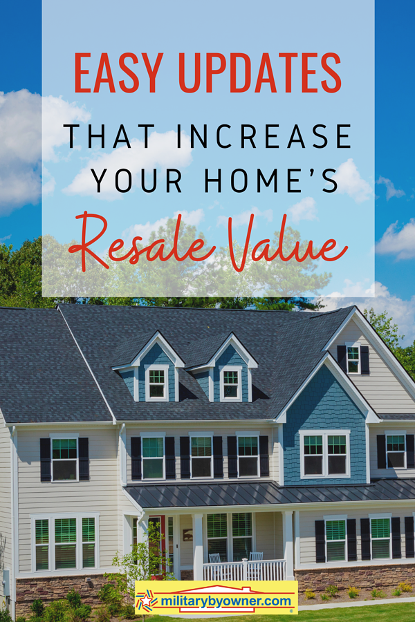Easy Updates that Increase Your Homes Resale Value