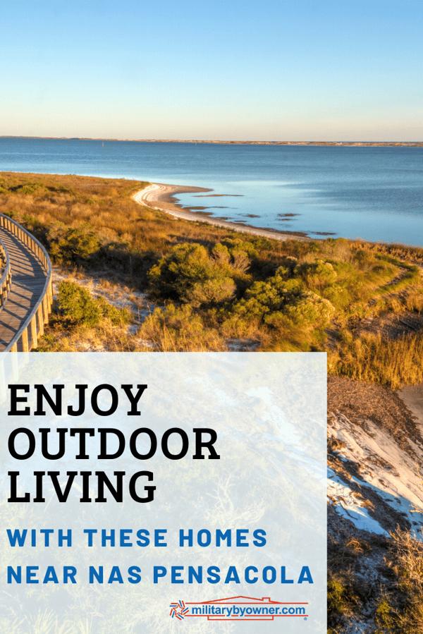 Enjoy Outdoor Living with NAS Pensacola Homes