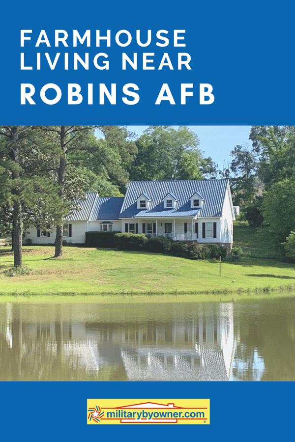 Farmhouse Living Near Robins AFB