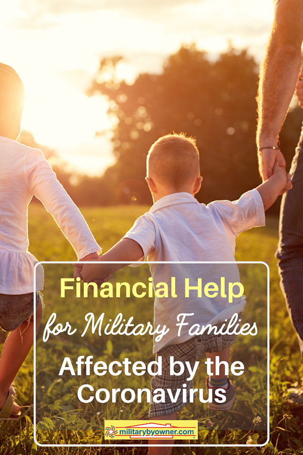 Financial Help for Military Families Affected by the Coronavirus (1)
