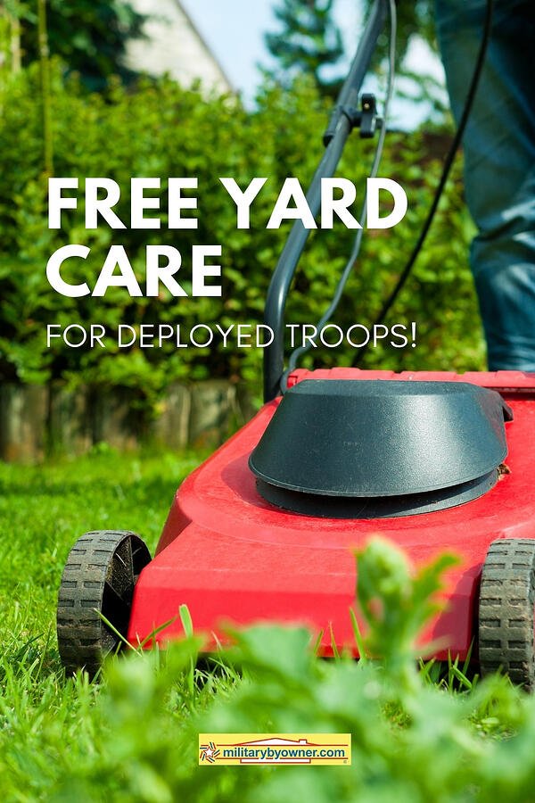 Free Yard Care for Deployed Troops