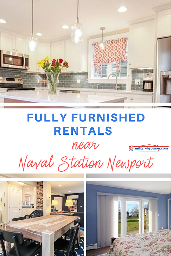 Fully Furnished Rentals near Naval Station Newport