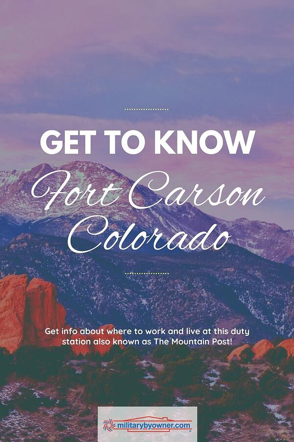 Get to Know Fort Carson