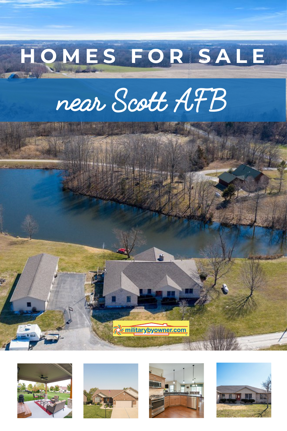 Homes for Sale Near Scott AFB