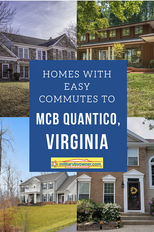 Homes with Easy Commutes to Quantico