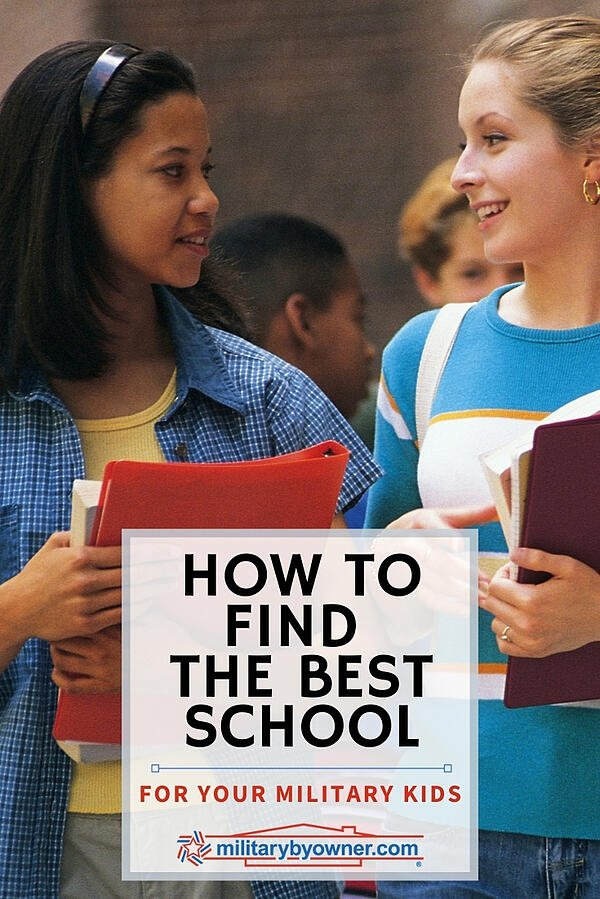 How to Find the Best School for Your Military Kids