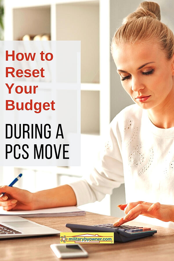 How to Reset Your Budget During a PCS Move