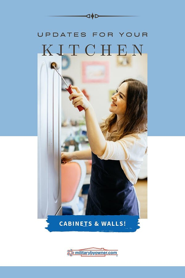 Kitchen Home Improvements Paint Your Cabinet and Walls for an Instant Update