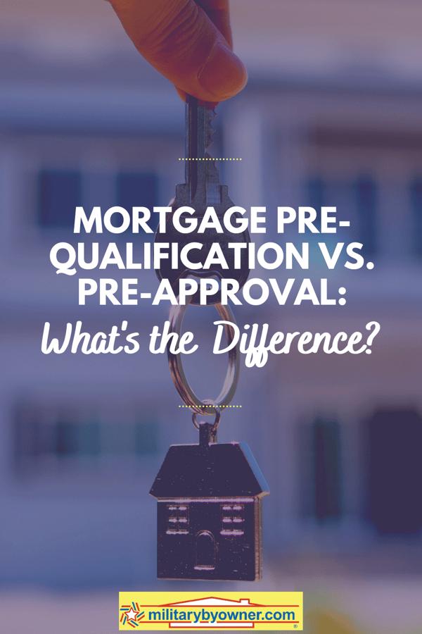 Mortgage Pre-Qualification vs. Pre-Approval_