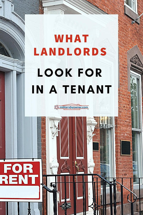 REV What Landlords Look For in a Tenant