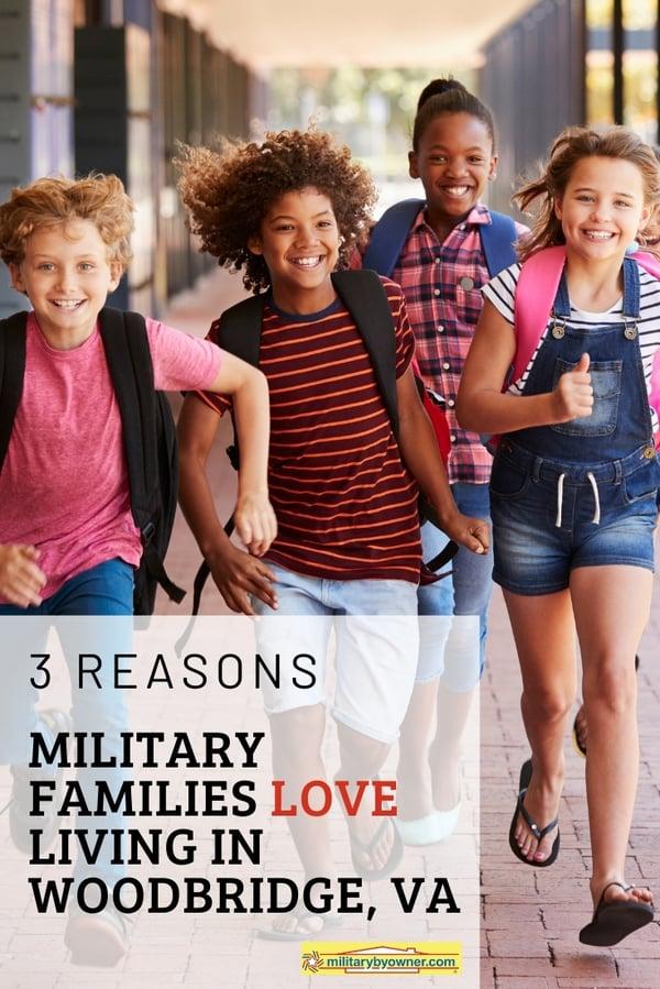 Reasons Why Military Families Love Living in Woodbridge, VA