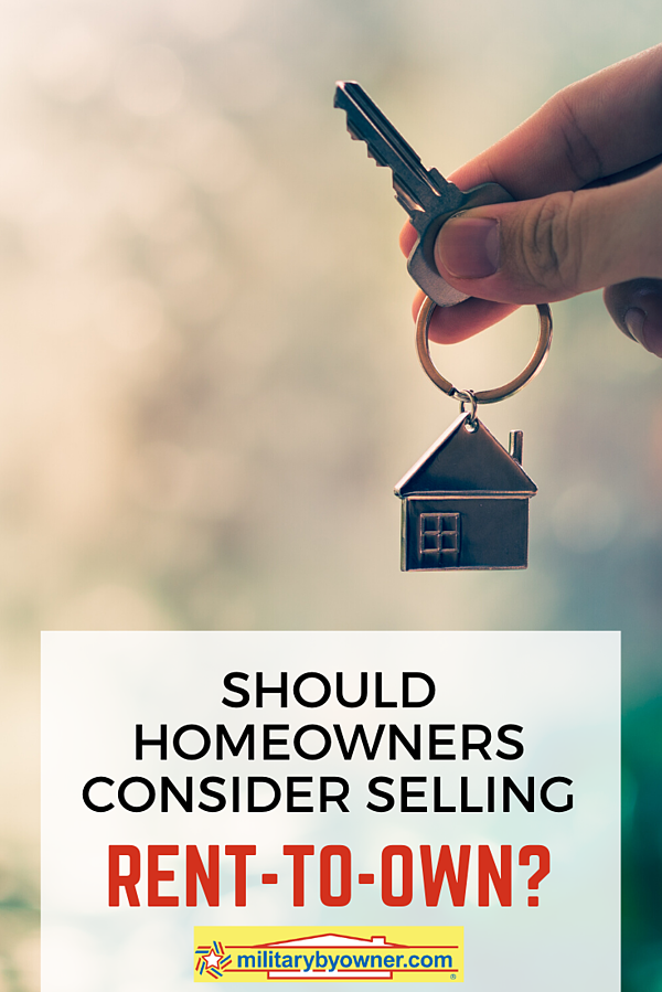 Should Homeowners Consider Rent-to-Own