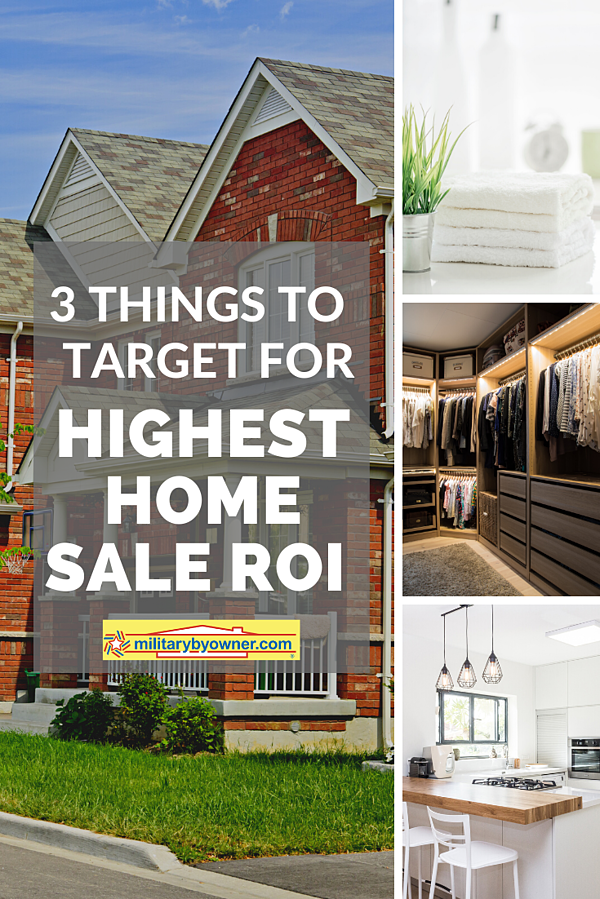 Target These 3 Things for Highest Home Sale ROI