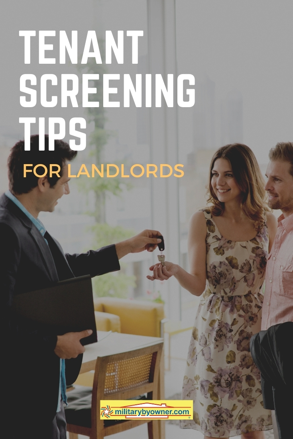Tenant screening tips for Landlords