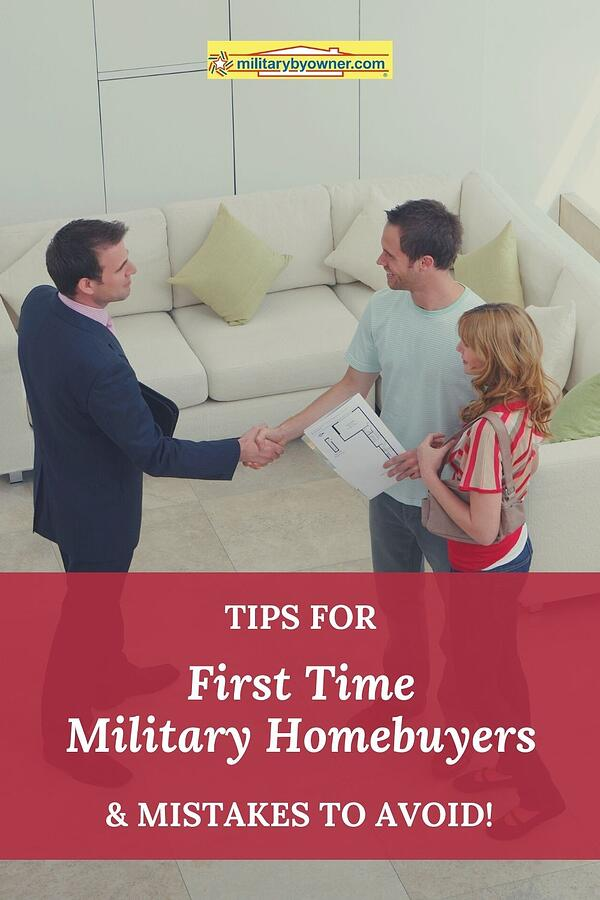 Tips for First Time Military Homebuyers