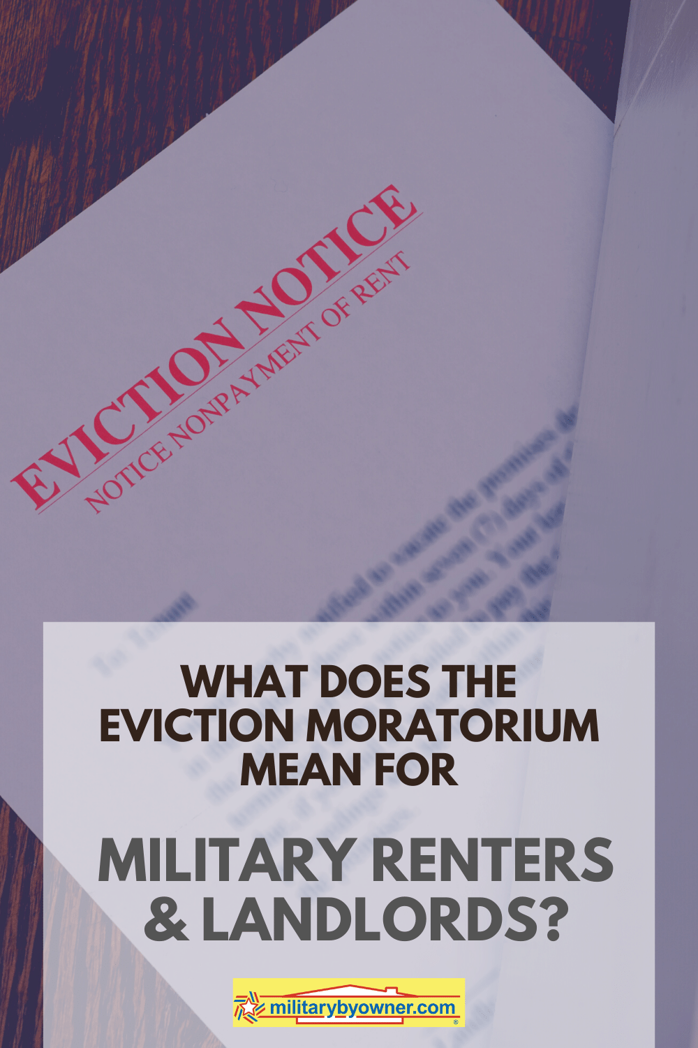What Does the Eviction Moratorium Mean for Military Renters & Landlords_