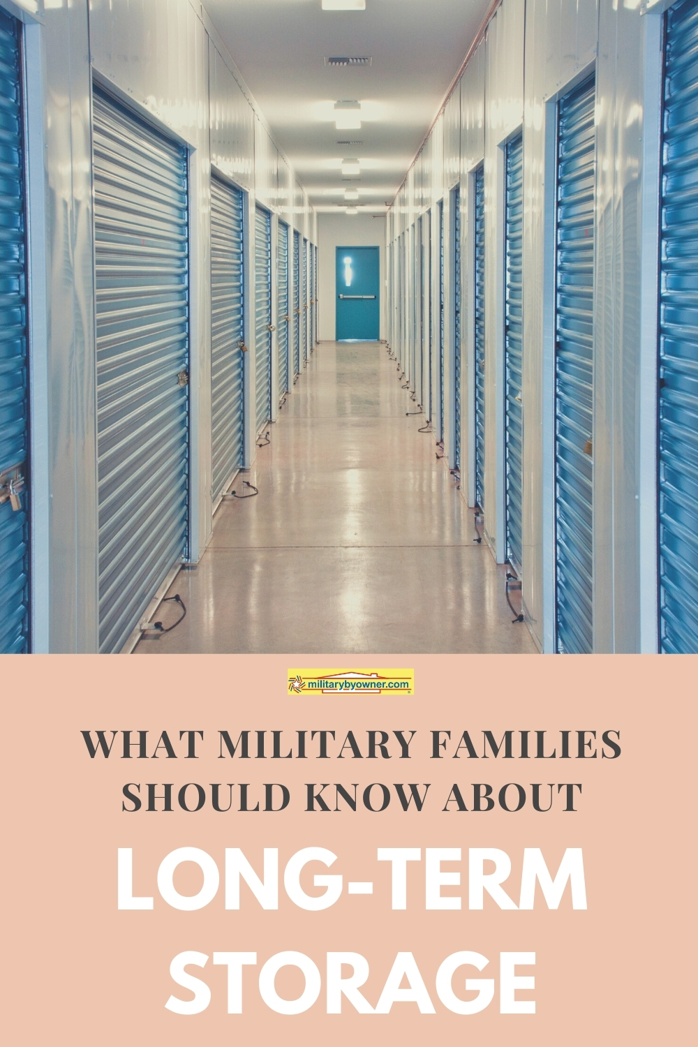 What Military Families Should Know About Long-Term Storage