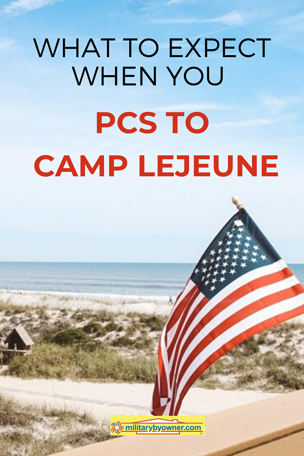 What to Expect when You PCS to Camp Lejeune