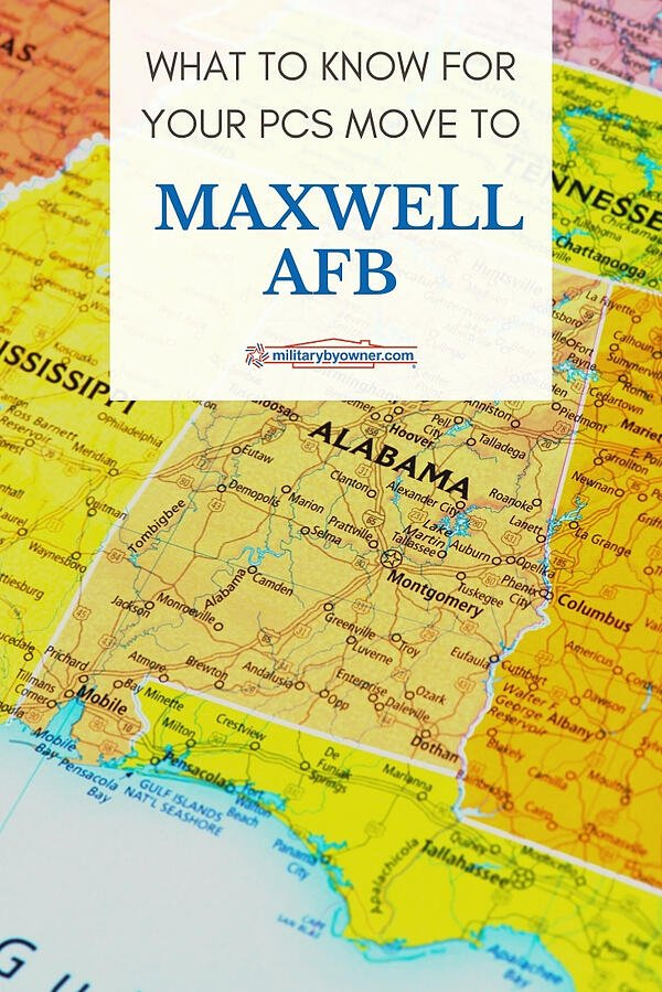 What to Know for your PCS move to Maxwell AFB