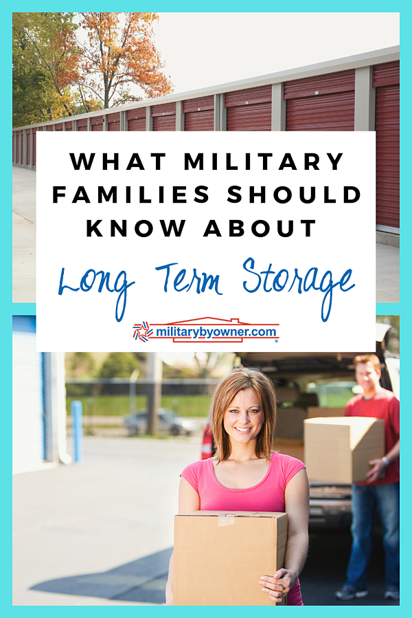 What Military Families Should Know  About Long Term Storage