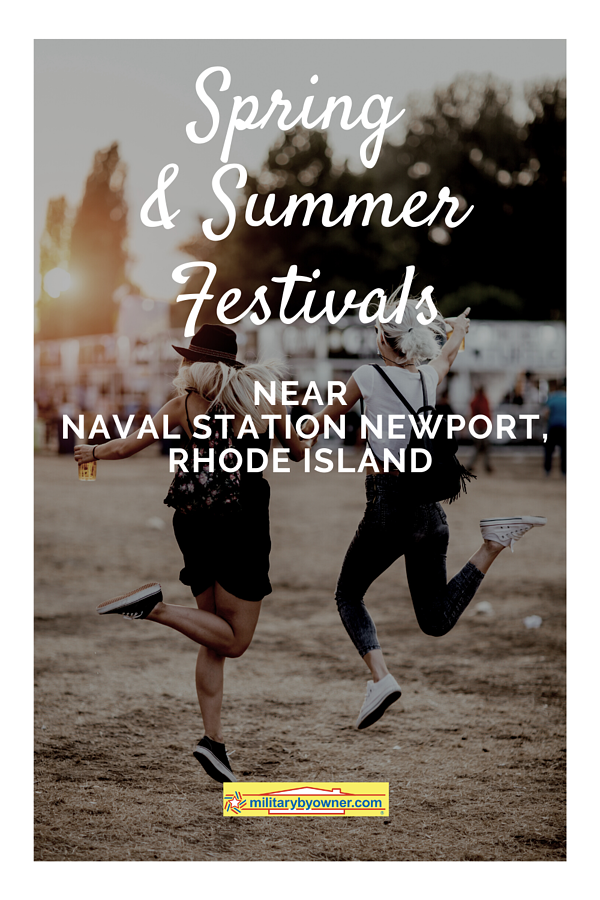 Spring and Summer Festivals near Naval Station Newport