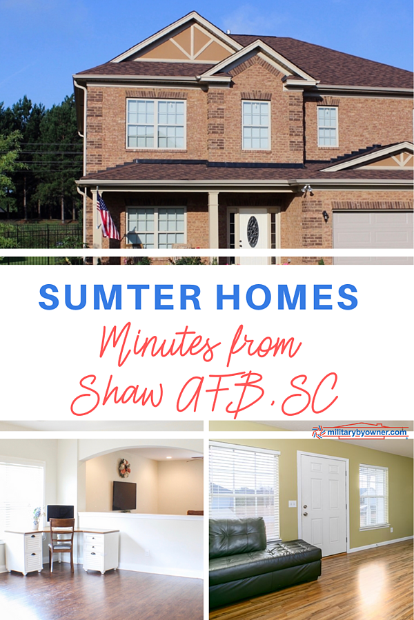 Sumter Homes For Sale or Rent Near Shaw AFB
