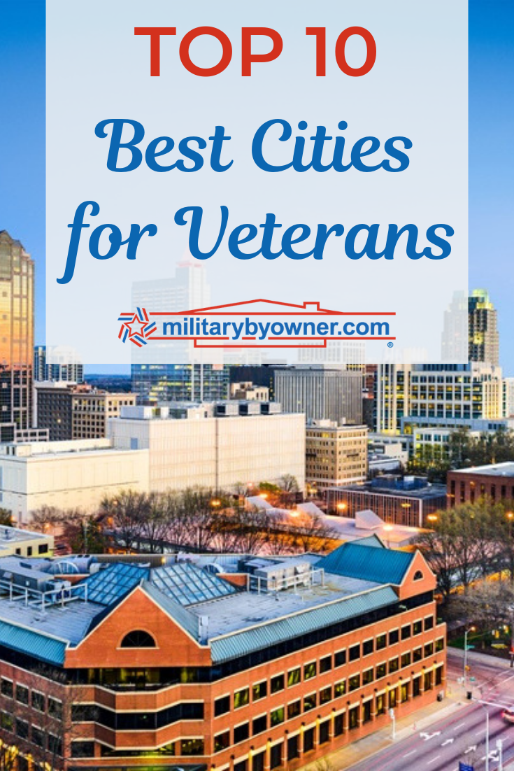Top 10 Best Cities for Veterans