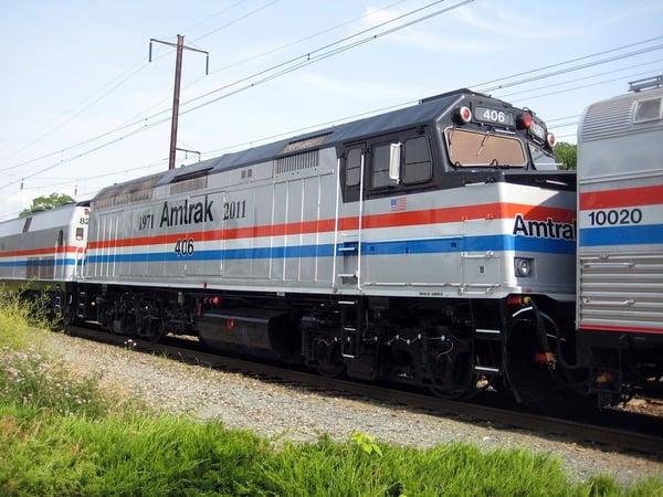 Consider using Amtrak for military family travel