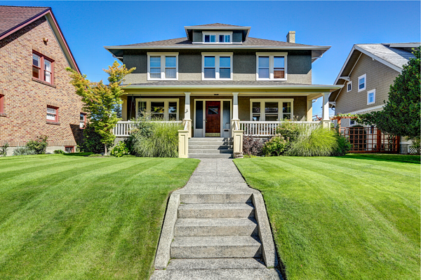 Curb appeal is an important part of selling your home.