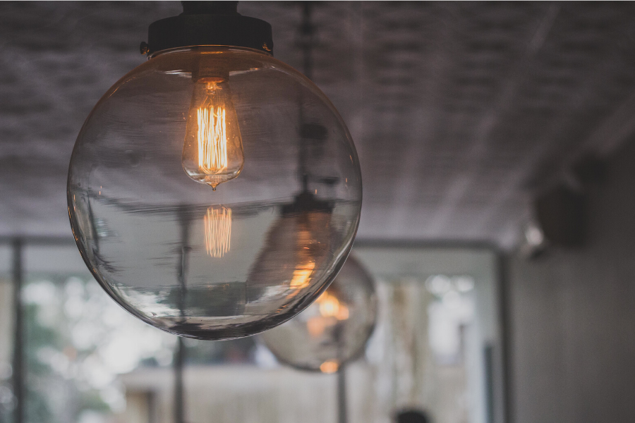 There's a significant difference that comes from a change in a light fixture or updated hardware on cabinets.