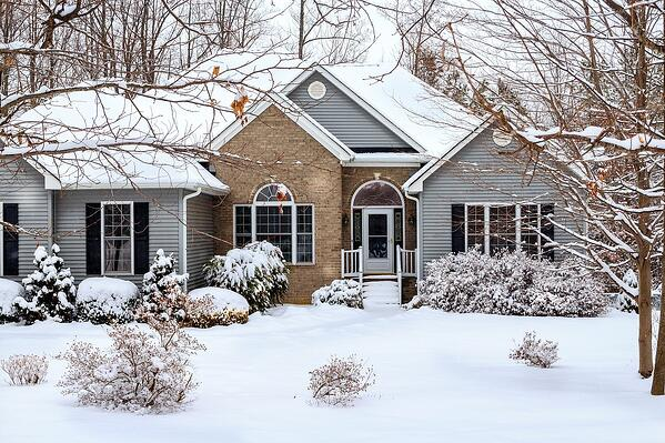 Buying a home in winter.