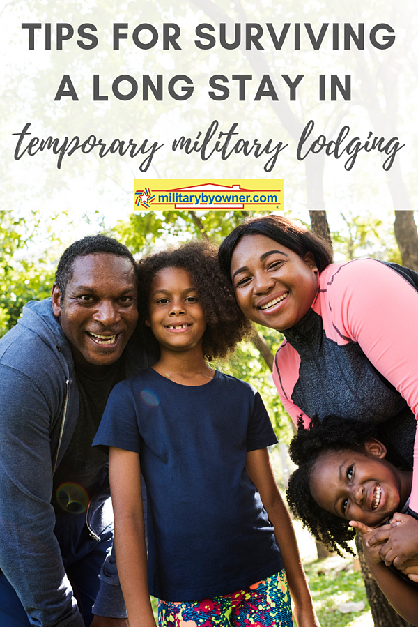 Surviving a Long Stay in Temporary Military Lodging