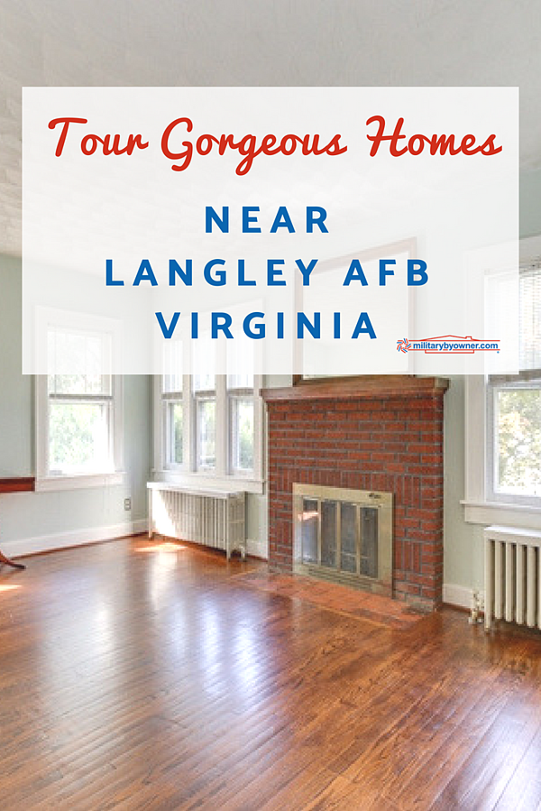 Tour Gorgeous Homes Near Langley AFB