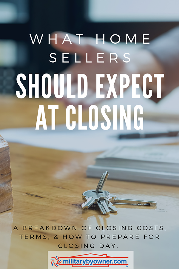 What Home Sellers Should Expect at Closing