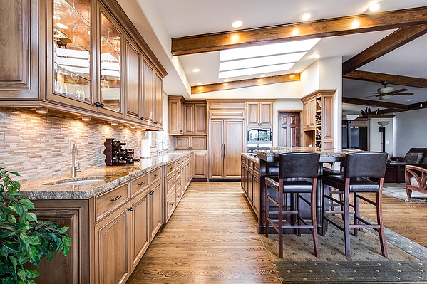 Don't go overboard with a kitchen remodel when home selling.