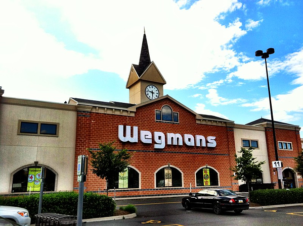 Popular grocery store Wegmans in Alexandria, Virginia.
