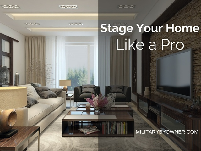 Stage your home like a pro.