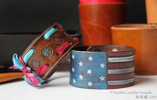 Freedom Leather Goods military spouse.