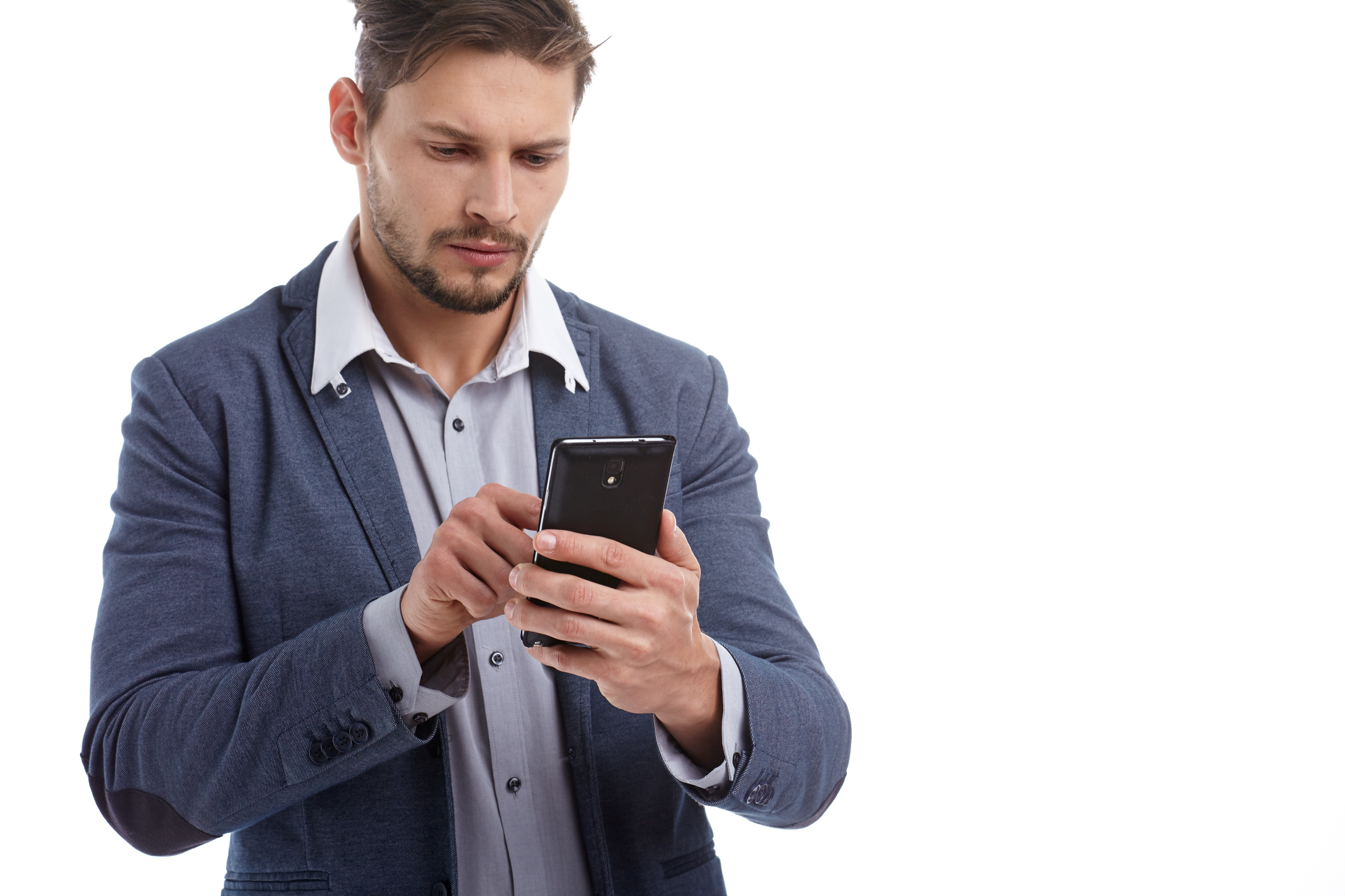 man_texting