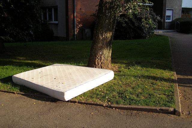 mattress_in_yard