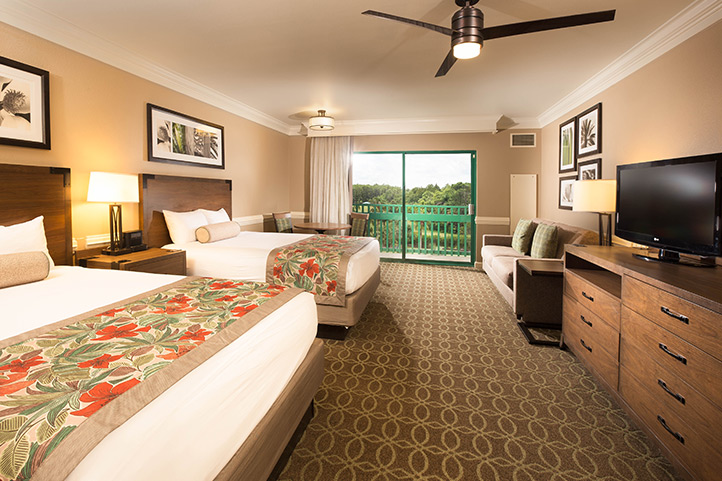 Shades of Green Room at Walt Disney
