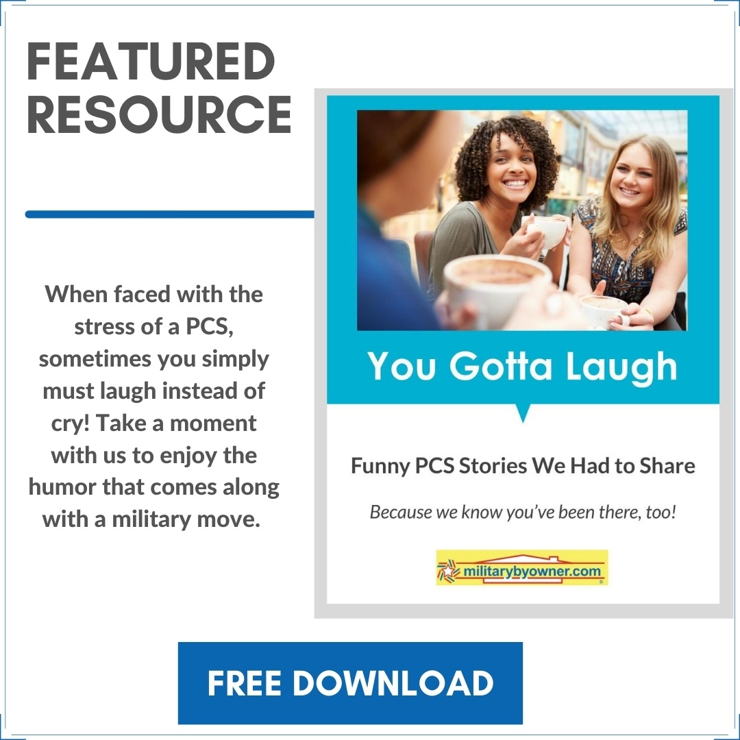 You Gotta Laugh! Funny PCS Stories E-book