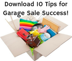 10 Tips for Garage Sale Success!